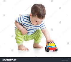 toddler toy car baby boy toddler playing toy car stock photo 194028500 shutterstock
