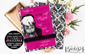 glitz u0026 glam invitations party printables for any event gvites