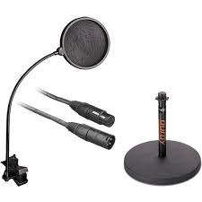 b u0026h photo video desktop xlr microphone essentials kit b u0026h photo