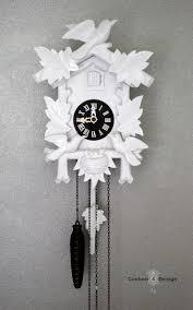 Modern Cuckoo Clock Painted Cuckoo Clocks Cuckoo4design