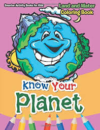 planet land water coloring book u2013 smarter kids