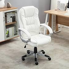 Amazon Ergonomic Office Chair Amazon Com Bellezza Ergonomic Office Pu Leather Chair Executive