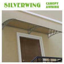 china polycarbonate door awnings roof aluminum corner canopy for