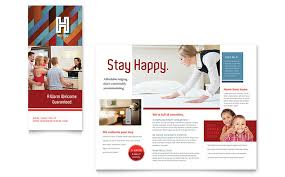 hotel brochure template word u0026 publisher