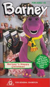 waiting for santa known as barney u0027s happy christmas for