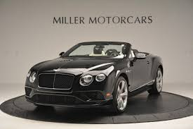 black convertible bentley 2016 bentley continental gt v8 s convertible stock b1123 for
