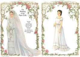 wedding dress up papermau wedding dress up paper dolls by helen page via teri