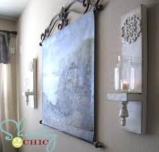 Shabby Chic Wall Sconces Add A Chic Touch To Your Home With These Diy Sconces