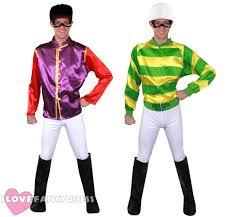 Horse Jockey Halloween Costume Jockey Costume Mens Horse Racing Fancy Dress Trousers
