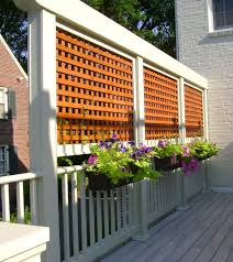Screen Kits For Porch by A Little Privacy Makes For Good Neighbors Petro Design Deck