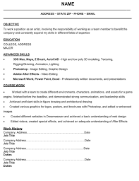 artist resume example 3d artist resume resume for your job application 3d character animator sample resume topics for problem solution