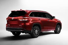 toyota highlander length 2017 toyota highlander specs and features