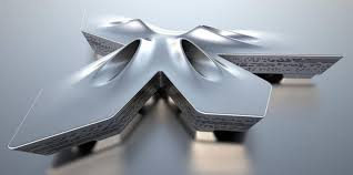 Zaha Hadid Home Dubai Financial Market Zaha Hadid Architects Wood Furniture Biz