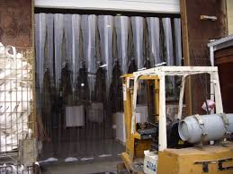 strip doors and curtains