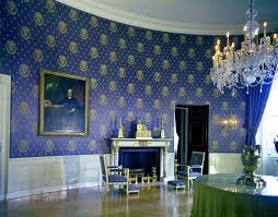 blue and white rooms white house rooms blue green red rooms john f kennedy