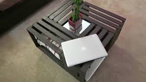 wine crate coffee table coffee table entrancing diy coffee table wooden crates youtube wine