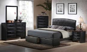 Modern Bedroom Collections Modern Bed Furniture Sets Queen With Black Finish Home Interior