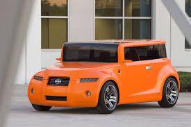 scion box car concept car of the week scion hako 2008 car design news