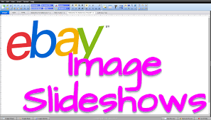how to add image slideshows to ebay template listings youtube