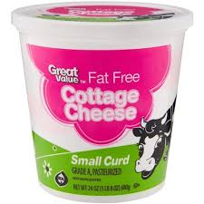 Nutrition Facts For Cottage Cheese by Great Value Fat Free Cottage Cheese Nutrition Facts Nutrition