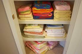 organized linen closet the sunny side up blog