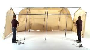 shelterlogic autoshelter assembly youtube