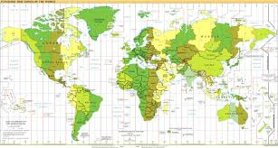 us map divided by time zones facts about time zones from masterclock masterclocktimes