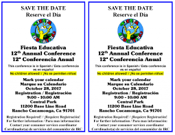 fiesta educativa 12th annual conference inland regional center