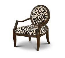 zebra print chair ebay