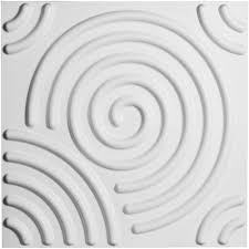 Home Depot Decorative Wall Panels Ekena Millwork 3 8 In X 19 5 8 In X 19 5 8 In Pvc White Spiral
