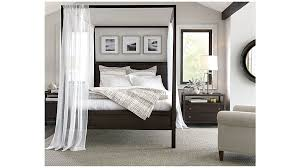 keane canopy bed crate and barrel