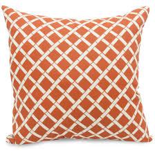 orange pillows amazoncom pillow perfect indoor outdoor sundeck