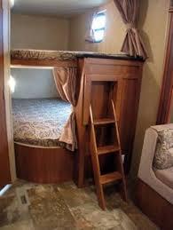 Travel Bunk Beds Rv Bunks Bedroom Remodel Travel Trailer Camper Turned Glamper