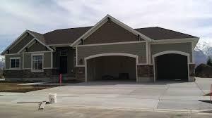 red brick house garage door colorgarage color ideas for u2013 venidami us