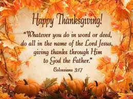 thanksgiving bible quote colossians 3 17