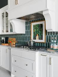 white kitchen cabinets with hexagon backsplash hexagon tile backsplash and floor designs hgtv