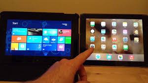 android tablet comparison vs windows 8 tablet comparison