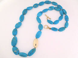 long turquoise necklace images Sleeping beauty turquoise necklace with 14kt gold turquoise gold jpg
