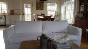 white linen sofa cover linen slipcovered sofa french grey