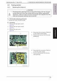 konica minolta bizhub 164 184 field service service manual