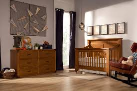 oak convertible crib franklin u0026 ben providence 4 in 1 convertible crib set with toddler