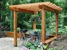Backyard Arbor Backyard Pergola Plans Home Outdoor Decoration