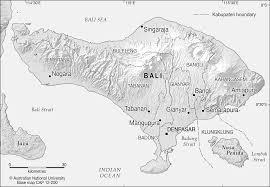 Map Of Bali Bali Base Cartogis Services Maps Online Anu