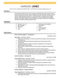 engineering resume templates engineering cv exles cv templates livecareer