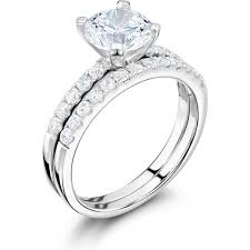 wedding ring sets uk diamond engagement wedding ring set