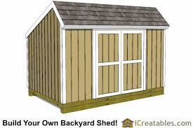 Making Your Own Shed Plans by 8x12 Saltbox Shed Plans Saltbox Storage Shed