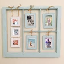 vintage window picture frame pale blue paint matching 3x3 u0026