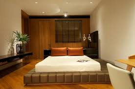 Interior Room Ideas Bedroom Contemporary Spare Bed Interior With Wall Mounted