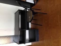 donne bureau recyclage objet récupe objet donne bureau noir bois à récupérer