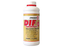 Zinsser Adhesive Remover by Dif By Zinsser Wallpaper Stripper Concentrate 1lt Amazon Co Uk